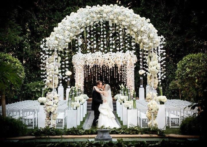 Aisle Style Wedding Ceremony Arch Inspiration Crazyforus