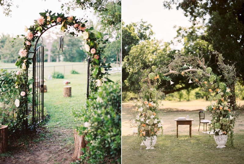 Attirant Found At /2013/10/06/aislestyleweddingceremonyarchinspiration