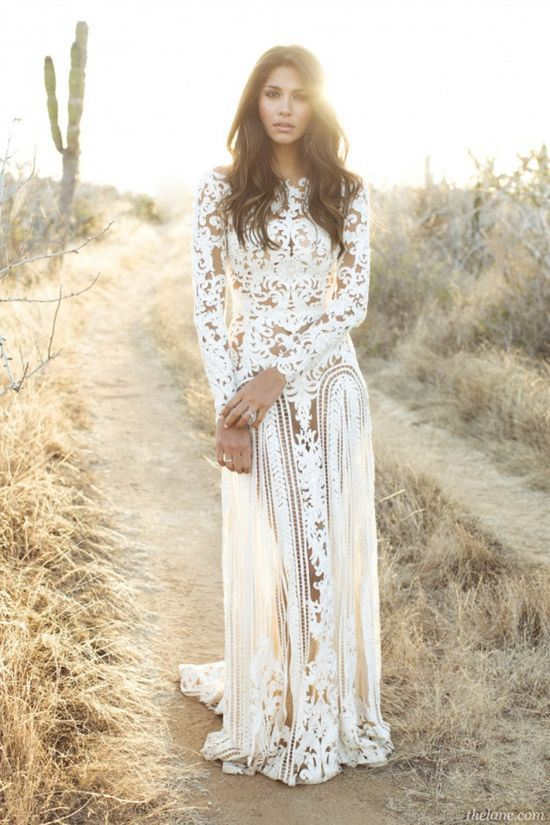 Image for Best boho wedding dresses