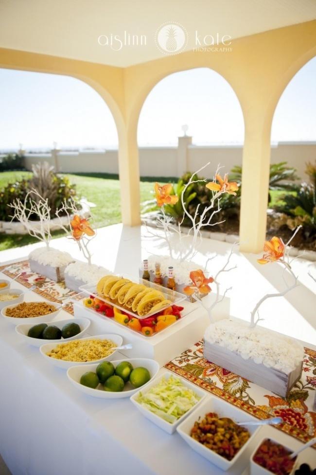 Wedding Catering Trend DIY Wedding Food Stations