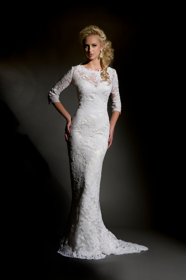 Chic and sophisticated eugenia couture wedding dresses