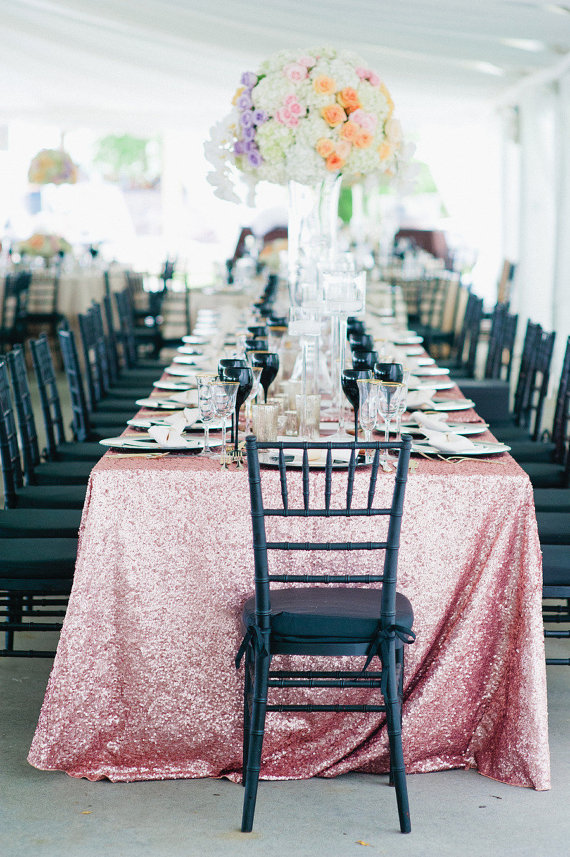 Image   Wedding Table Linen Ideasimage of table linens for wedding  view in gallery deep purple  . Purple Tablecloths For Wedding. Home Design Ideas