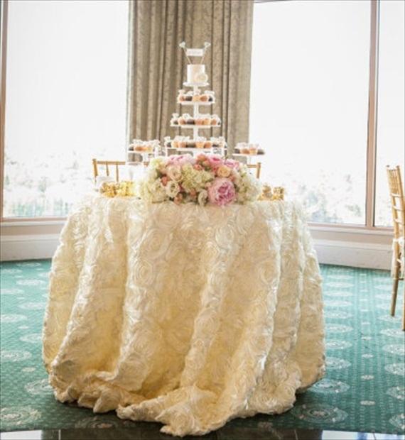 Wedding Tablecloths: 7 Wedding Tablecloth Ideas + Styles