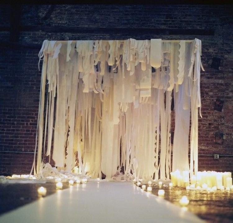 Wedding Ceremony Trend: Ribbon Canopies – Part I forecasting