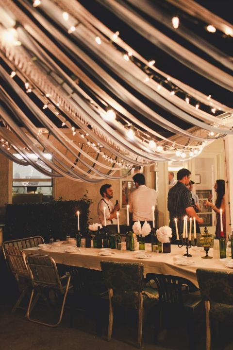 Wedding Ceremony Trend: Ribbon Canopies – Part II