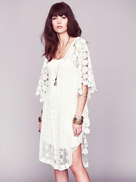 Honeymoon Fashion Inspiration: The Sheer White Dress – Part III