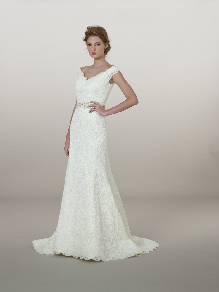 Non Strapless Wedding Gowns We Love From Bridal Market Fall 2017