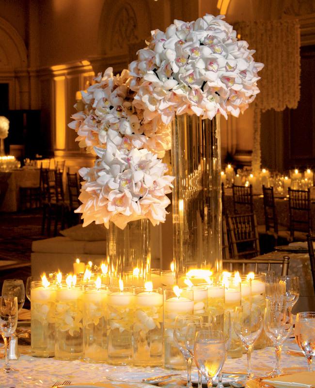 Statement orchid wedding centerpieces crazyforus
