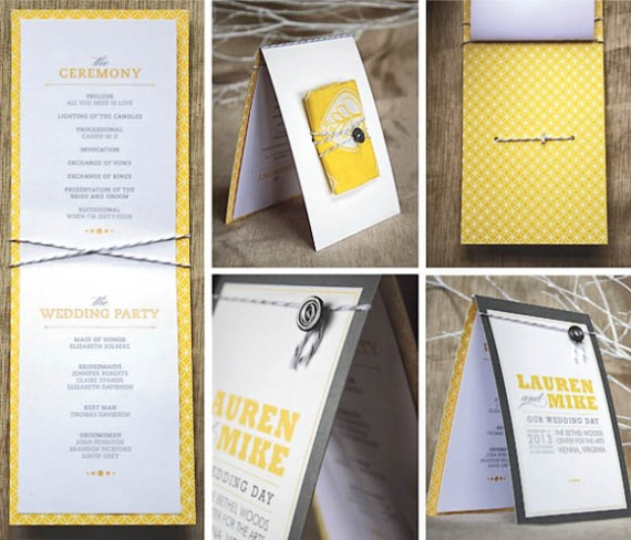 Wedding Ideas For 30 Guests: 30 Wedding Program Design Ideas To Guide Your Wedding